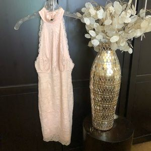 Guess Pale Pink Lace Dress